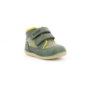 Kickers BINS-2 KHAKI GREEN