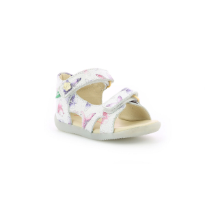 Kickers BINSIA-2 WHITE BUTTERFLY