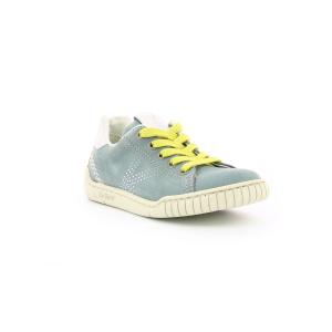 Kickers WINAX KHAKI WHITE GREEN