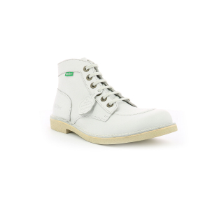 Kickers KICKSTONER WHITE BEIGE SOLE