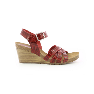 Kickers SOLYNA RED CROCO