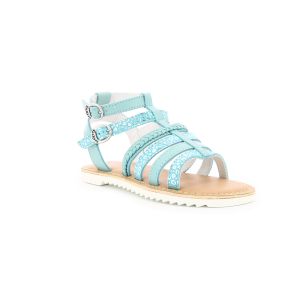 Kickers SHASTYL TURQUOISE SILVER LEOPARD