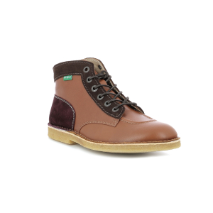Kickers KICK LEGEND CAMEL MARRON BORDEAUX HOMME
