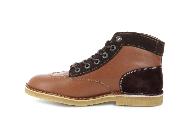 KICK LEGEND CAMEL MARRON BORDEAUX HOMME
