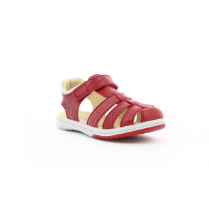 Kickers PLATINIUM RED GREY