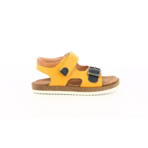 Kickers FUNKYO YELLOW NAVY CAMEL