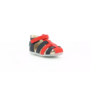 Kickers BIGFLO MARINE ROUGE BLANC