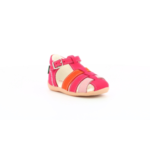 Kickers BIGFLY-2 ROSE ORANGE TRICOLORE