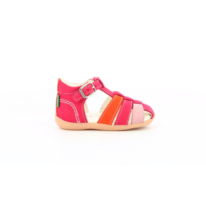 Kickers BIGFLY-2 PINK ORANGE TRICOLOR