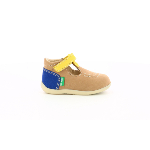 Kickers BONBEKRO BEIGE YELLOW NAVY