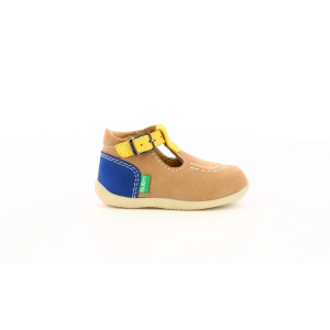 Kickers BONBEK-2 BEIGE YELLOW NAVY