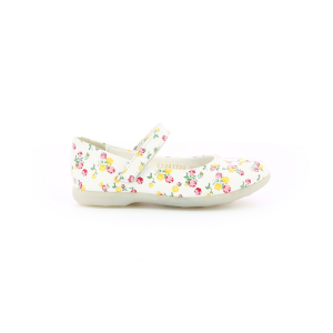 AMBELLIE WHITE MULTICO FLOWERY