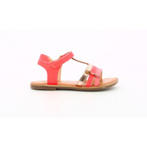 Kickers DIAMANTO ROSE METALLISE FLUO