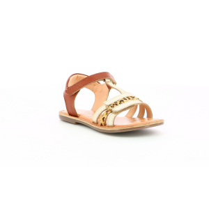 Kickers DIAMANTO GOLD CAMEL LEOPARD