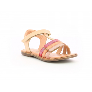 Kickers DIAMANTO PINK CORAL METALLISED