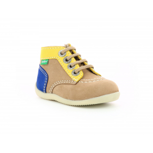 Kickers BONZIP-2 LIGHT BEIGE