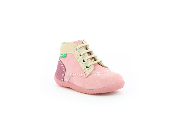 Kickers BONZIP ROSE TRICOLORE