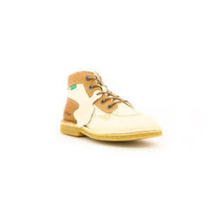 Kickers KICK LEGEND WHITE BEIGE BROWN