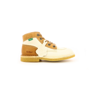 Kickers KICK LEGEND BLANC BEIGE MARRON