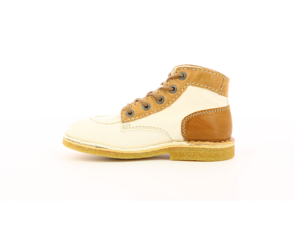 KICK LEGEND BLANC BEIGE MARRON