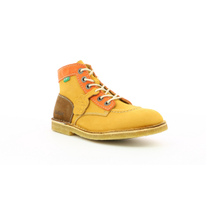 Kickers KICK LEGEND JAUNE ORANGE MARRON FEMME