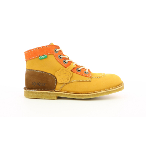 Kickers KICK LEGEND YELLOW ORANGE BROWN