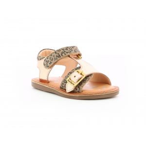 Kickers DIAZZ BEIGE LEOPARD ROSE