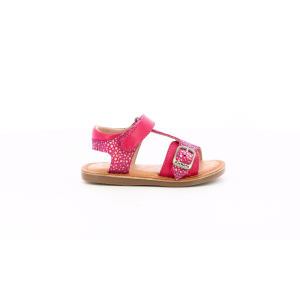 Kickers DIAZZ DARK PINK PRINTED