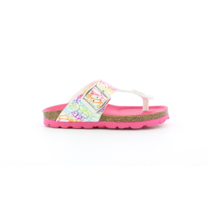 Kickers SUMMERIZA BLANC MULTICO ETHNIC