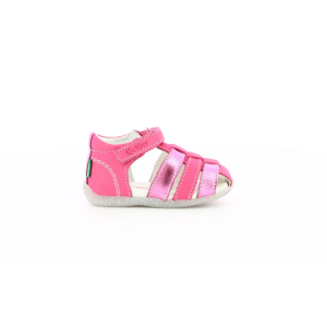 Kickers BIGFLO-2 DARK PINK METALLISED
