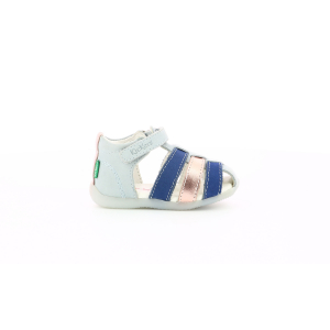 Kickers BIGFLO GRIS ROSE MARINE