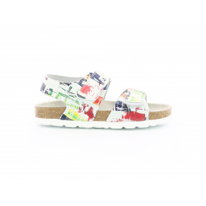 Kickers SUMMERKRO MULTICOLOR PAINTING