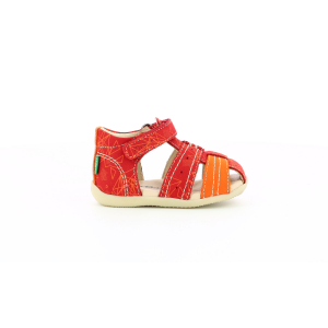 Kickers BIGBAZAR-2 RED ORANGE GALACTIC
