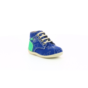 Kickers BONBON-2 BLUE GREEN GALACTIC