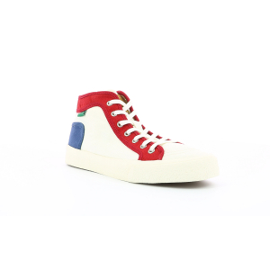 Kickers ARVEILER WHITE RED BLUE