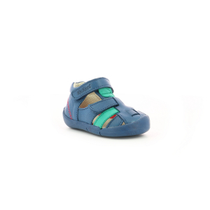 Kickers WASABOU BLUE GREEN