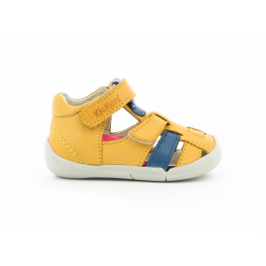 Kickers WASABOU YELLOW BLUE