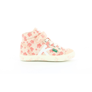 Kickers GODUP PINK FLOWER