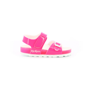 Kickers SUNKRO ROSE BLANC