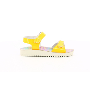 Kickers ODYSCRATCH YELLOW PATENT