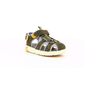 Kickers JUMANGE KHAKI YELLOW