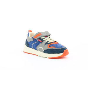Kickers KNAKK MARINE GRIS ORANGE