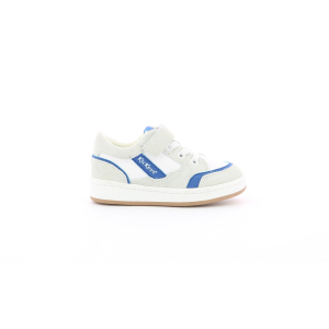 Kickers BISCKUIT WHITE BLUE