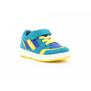 Kickers BISCKUIT BLUE YELLOW
