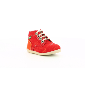 Kickers BONZIP ROUGE ORANGE GALACTIC