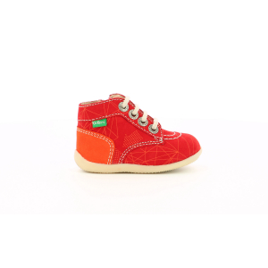 Kickers BONZIP-2 ROUGE ORANGE GALACTIC