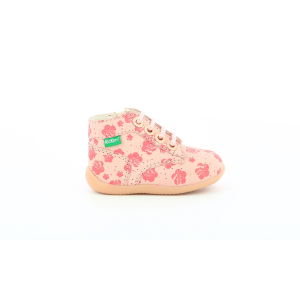 Kickers BONZIP-2 ROSE FLOWER
