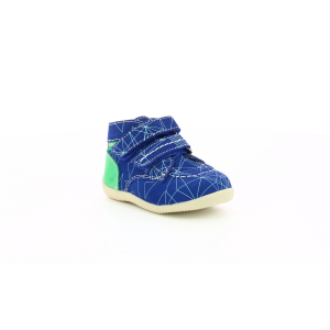 Kickers BONKRO-2 BLUE GREEN GALACTIC