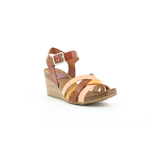 Kickers SOLYNIA ROSE MARRON JAUNE
