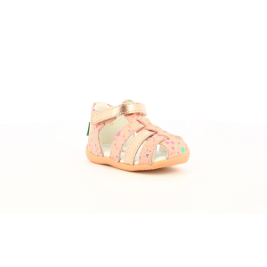 Kickers BIGFLO-2 PINK METALLISED BLOSSOM